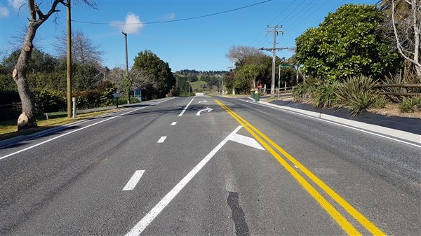 Intersection upgrade completed